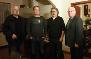 Melbourne 2015-Dinko Dedić, Marko Jurič, Mate Bašić, Vlado Prša